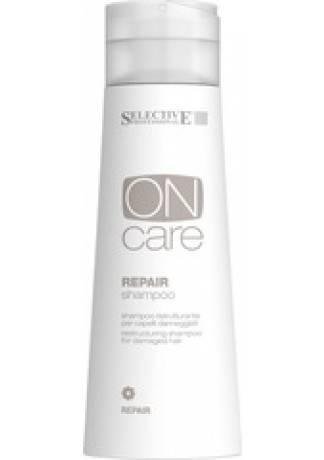 лучшая цена Selective Professional Repair shampoo Шампунь Восстанавливающий для Поврежденных Волос, 250 мл