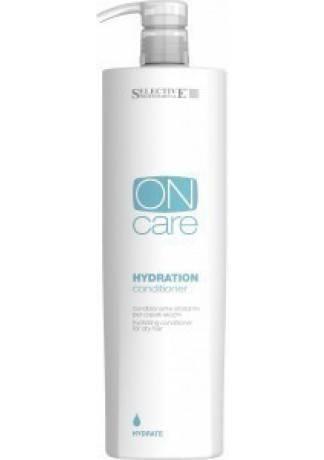 Selective Professional Hydration conditioner Кондиционер Увлажняющий для Сухих Волос, 1000 мл selective professional hydration shampoo шампунь увлажняющий для сухих волос 1000 мл