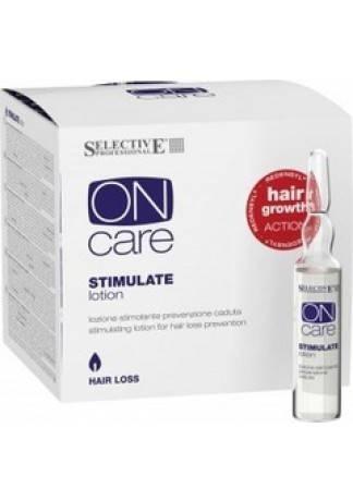 Selective Professional Stimulate Lotion Стимулирующий Лосьон От Выпадения Волос, 12х6 мл selective стимулирующий шампунь от выпадения волос 250 мл selective hair loss