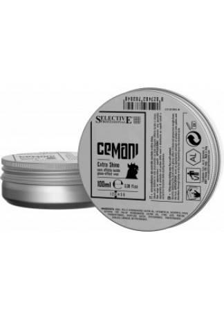 Selective Professional CEMANI Воск Extra Shine для Волос с Глянцевым Эффектом , 100 мл