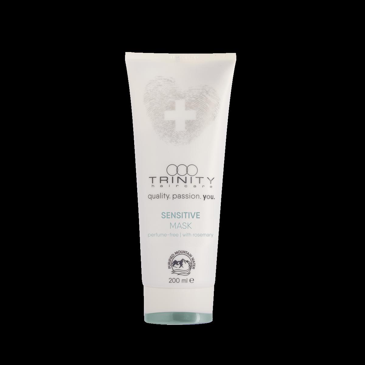 Фото - Trinity Hair Care Маска Therapies Sensitive Mask для Чувствительной Кожи Головы, 200 мл trinity hair care маска essentials summer mask с уф фильтром 200 мл