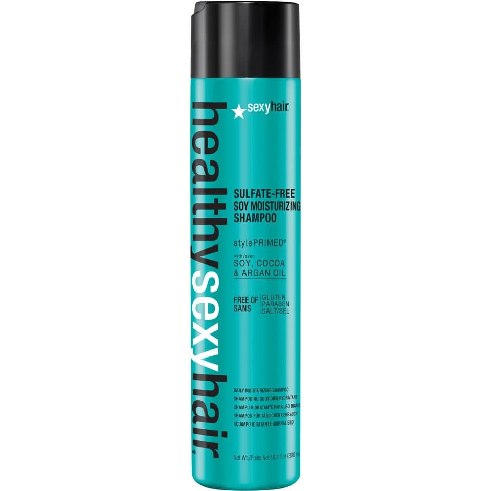 Sexy Hair Шампунь Healthy Sexy Hair Moisturizing Shampoo Увлажняющий, 300 мл innisfree my hair moisturizing shampoo for dry hair