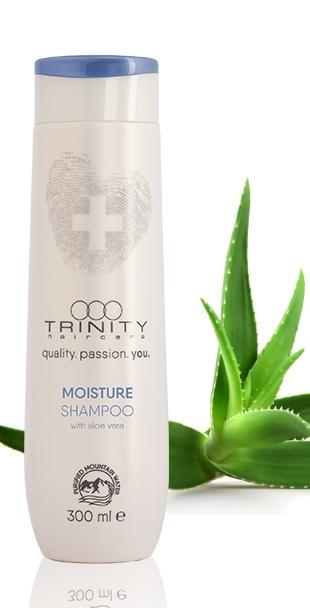 Trinity Hair Care Шампунь Увлажняющий Essentials Moisture Shampoo, 300 мл шампунь для волос h brush special care shampoo 300 мл