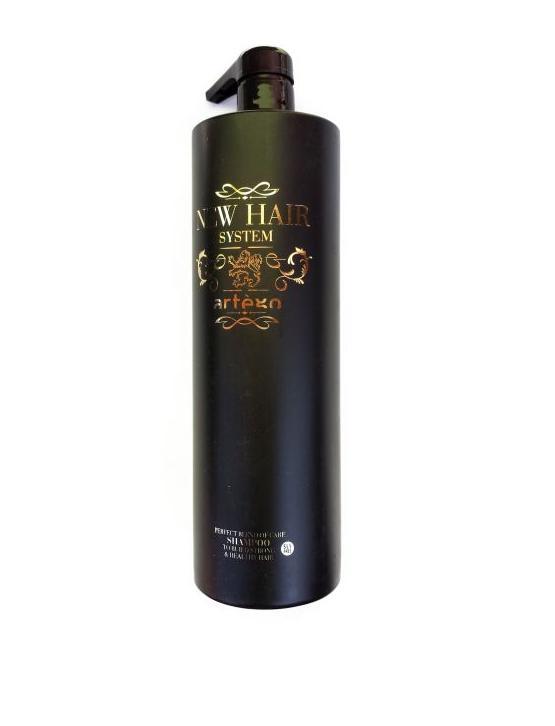 Artego Бессульфатный Кератиновый Шампунь Shampoo Post  NHS, 1000 мл