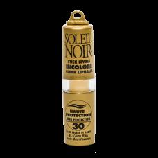 Soleil Noir Бальзам для Губ Белый SPF 30 Высокая Степень Защиты, 4г водостойкий стик для интенсивной защиты чувствительной кожи губ глаз носа ушей spf 30 8 г la biosthetique methode soleil
