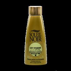 Soleil Noir Антивозрастное  Витаминизированное Молочко c Золотой Крошкой SPF 4 Эффект Мерцания, 150 мл