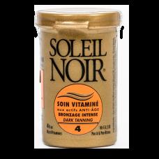Soleil Noir Крем Антивозрастной Витаминизированный SPF 4 Интенсивный Загар Soin Vitamine, 20 мл soleil noir крем антивозрастной витаминизированный солнцезащитный spf 20 средняя степень защиты soin vitamine 50 мл