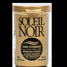 Soleil Noir Крем Антивозрастной Витаминизированный Ультра-Загар Soin Vitamine, 20 мл soleil noir крем антивозрастной витаминизированный солнцезащитный spf 20 средняя степень защиты soin vitamine 50 мл