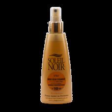 Soleil Noir Сухое Масло-Спрей  SPF 15 Средняя Степень Защиты, 150 мл soleil noir сухое масло спрей ультра загар 150 мл