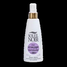 Soleil Noir Солнцезащитное Молочко-Спрей SPF 30 Высокая Степень Защиты, 150 мл