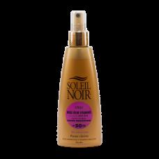 Soleil Noir Сухое Масло-Спрей  SPF 50 Высокая Степень Защиты, 150 мл soleil noir сухое масло спрей ультра загар 150 мл