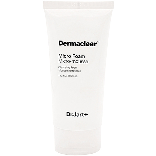Dr.Jart+ Пенка Dermaclear Micro Micro-Mousse Cleansing Foam для Умывания Мягкая с Био-Водой, 120 мл frudia микропенка citrus brightening micro cleansing foam для умывания с цитрусом 145г