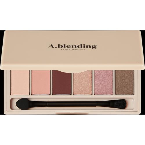 Фото - Esthetic House Тени A.Blending Pro Eyeshadow Palette для Век Нудистский Пляж, 6 шт/2г тени для век single power eyeshadow 2 2г 05 pink sand