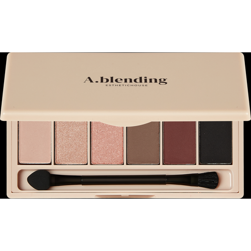 Фото - Esthetic House Тени A.Blending Pro Eyeshadow Palette для Век Сияние, 6 шт/2г тени для век single power eyeshadow 2 2г 05 pink sand