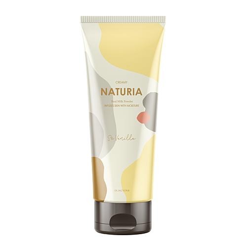Naturia Скраб Creamy Oil Salt Scrub So Vanilla для Тела Ваниль, 250г naturia скраб для тела creamy oil ваниль 250 мл