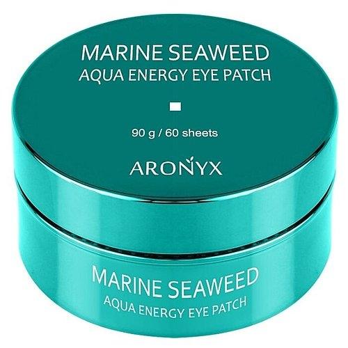 Aronyx Патчи Marine Aqua Energy Eye Patch Гидрогелевые с Морскими Водорослями, 60 шт aronyx патчи marine aqua energy eye patch гидрогелевые с морскими водорослями 60 шт