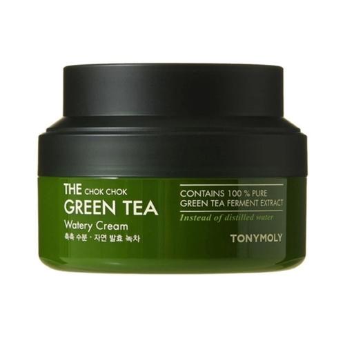 TONY MOLY Крем Watery Cream Увлажняющий для Лица с Экстрактом Зеленого Чая, 60 мл