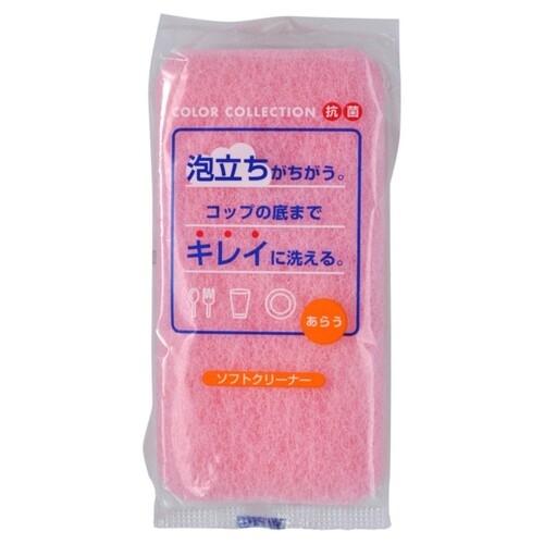 Ohe Губка Soft Cleaner для Мытья Посуды Трехслойная Мягкая, 1 шт