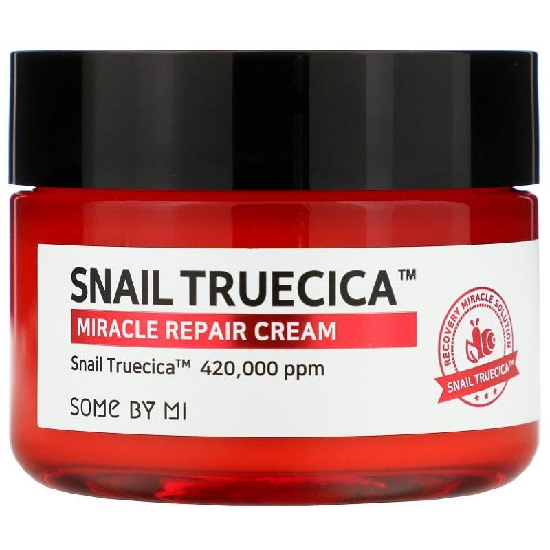 Some By Mi Крем Snail Truecica Miracle Repair Cream с Муцином Чёрной Улитки, 60 мл