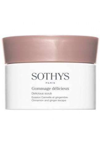 Sothys Скраб Delicious Scrub Cinnamon And Ginger Escape Изысканный для Тела, 800 мл