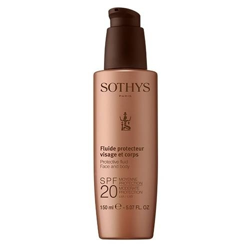 Sothys Молочко Protective Fluid Face And Body SPF20 Moderate Protection UVA/UVB с SPF20 для Лица и Тела, 150 мл sothys молочко с spf20 для лица и тела 150 мл