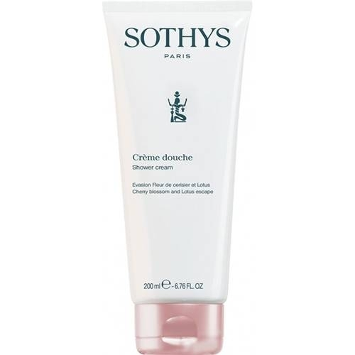 Sothys Крем-Гель Shower Cream Cherry Blossom And Lotus Escape для Душа Вишня Лотос, 200 мл