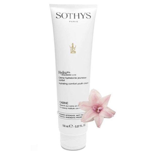 Sothys Крем Comfort Hydra Youth Cream Обогащённый Увлажнящий, 150 мл