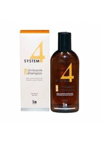 Sim Sensitive Шампунь Терапевтический № 2 System 4, 215 мл шампунь 2 для сухих повреждённых окрашенных волос 215 мл sim sensitive system4