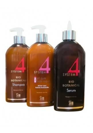 Sim Sensitive Комплекс От Выпадения Волос Макси System 4 (3шт по 500 мл) sim sensitive комплекс от выпадения волос system 4 3шт по 100 мл