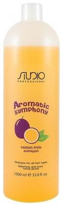 Kapous Studio Professional Шампунь для Всех Типов Волос Aromatic Symphony Маракуйя, 1000 мл