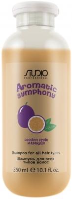 Kapous Studio Professional Шампунь для Всех Типов Волос Aromatic Symphony Маракуйя, 350 мл