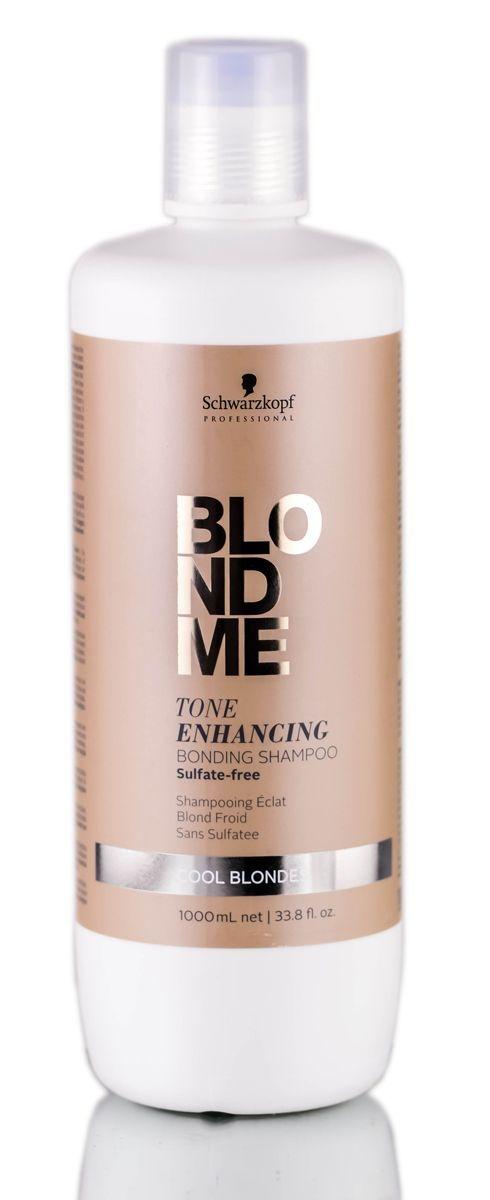 Schwarzkopf БлондМи Шампунь с кислым PH, 1000 мл schwarzkopf блондми бальзам окислитель с ухаживающей формулой 9% 1000 мл