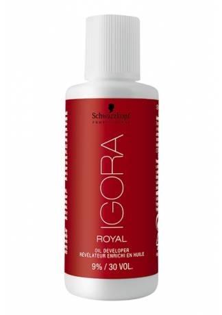 Schwarzkopf Igora Royal Мини-Лосьон-окислитель 9%, 60 мл schwarzkopf professional sp igora royal лосьон окислитель для волос 3 6 9 12% sp igora royal лосьон окислитель 6% 60 мл