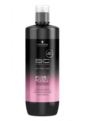 Schwarzkopf Бонакур FF Шампунь укрепляющий для волос Fibre Force Fortifying Shampoo, 1000 мл schwarzkopf бонакур cf сияние цвета кондиционер для волос 1000 мл