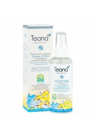 Teana Энергетический Матирующий Тоник-Спрей с Лактоферрином, 125 мл