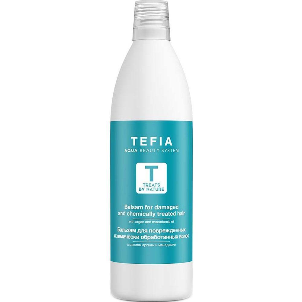 цена на Tefia Бальзам для Поврежденных и Химически Обработанных Волос, 1000 мл