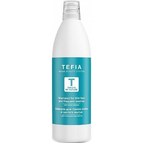 Tefia Шампунь для Поврежденных Волос, 1000 мл tefia шампунь для тонких волос и частого мытья 1000 мл