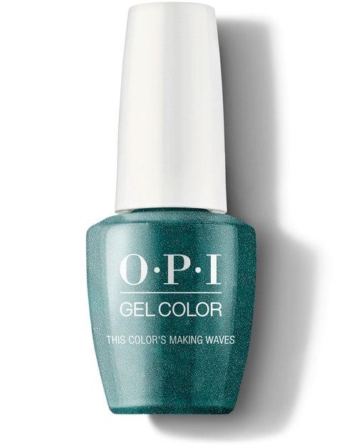 OPI Гель GCH74A This Color'S Making Waves для Ногтей Колор, 15 мл недорого