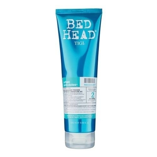 TIGI Bed Head Urban Antidotes Recovery - Шампунь для поврежденных волос, 250 мл tigi bed head urban antidotes resurrection маска для сильно поврежденных волос 200 гр