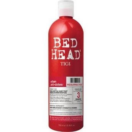 TIGI Bed Head Urban Antidotes Resurrection - Шампунь для сильно поврежденных волос, 750 мл tigi bed head urban antidotes resurrection маска для сильно поврежденных волос 200 гр