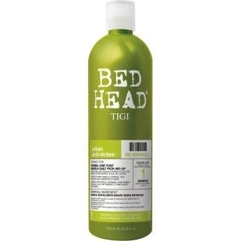 TIGI Bed Head Urban Antidotes Re-Energize - Шампунь для нормальных волос, 750 мл tigi bed head urban antidotes resurrection шампунь для сильно поврежденных волос 750 мл