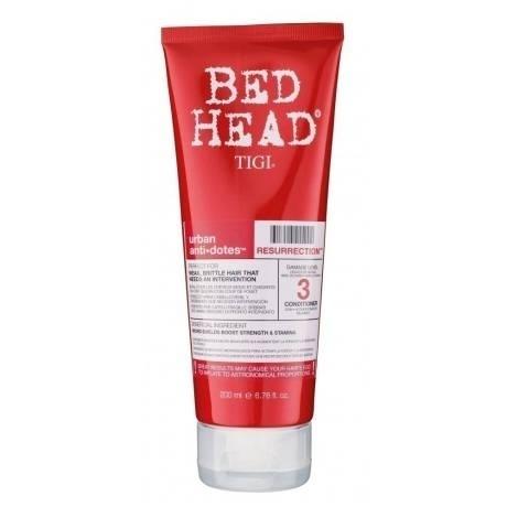 TIGI Bed Head Urban Antidotes Resurrection - Кондиционер для сильно поврежденных волос, 200 мл tigi bed head urban antidotes resurrection маска для сильно поврежденных волос 200 гр
