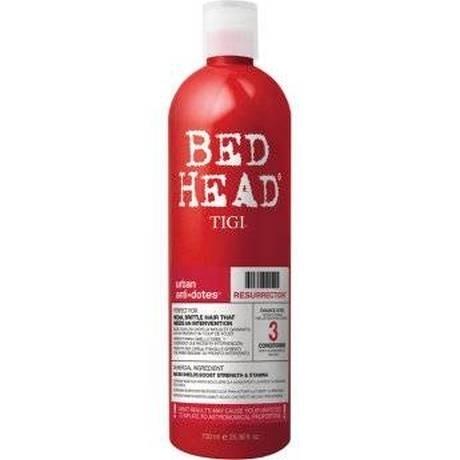 TIGI Bed Head Urban Antidotes Resurrection - Кондиционер для сильно поврежденных волос, 750 мл tigi bed head urban antidotes resurrection маска для сильно поврежденных волос 200 гр