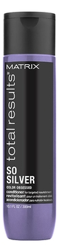 MATRIX Кондиционер Total Results Color Obsessed So Silver Conditioner для Сухих Волос Блонд Сильвер, 300 мл