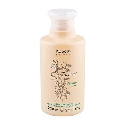 Kapous Treatment Шампунь Против Выпадения Волос, 250 мл kleona шампунь против выпадения аир для нормальных и жирных волос 250 мл