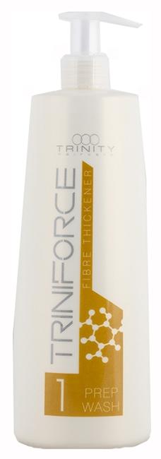 Trinity Hair Care Шампунь Triniforce для Волос Очищающий Уплотнение волос, 1000 мл