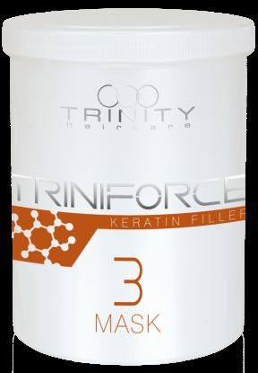 Фото - Trinity Hair Care Маска Triniforce для Волос Наполнитель Кератина, 1000 мл trinity hair care маска essentials summer mask с уф фильтром 200 мл
