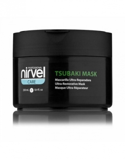 Nirvel Professional Маска Tsubaki Mask для Сухих и Поврежденных Волос, 250 мл