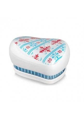 Tangle Teezer Расческа Tangle Teezer Compact Styler Winter Frost Белый расческа tangle teezer tangle teezer ta022lwwbm34