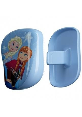 Tangle Teezer Расческа Tangle Teezer Compact Styler Disney Frozen Голубой tangle teezer расческа tangle teezer compact styler bright голубой розовый